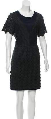 Marc by Marc Jacobs Fringe-Accented Mini Dress