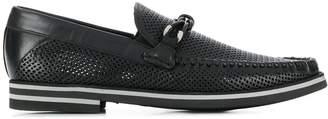 Baldinini perforated boat shoes