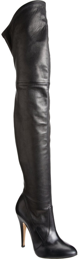 Casadei Stretch Over-the-Knee Boot