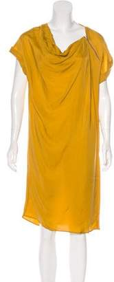 Max Mara Short Sleeve Knee-Length Dress