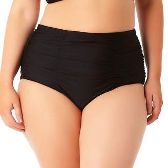 ALLURE BY IMG Allure By Img High Waist Swimsuit Bottom-Juniors Plus