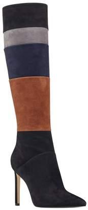 Nine West Toprank Blocked Knee High Boot (Women)