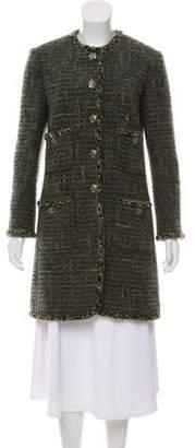 Chanel Paris-Edinburgh Wool Coat