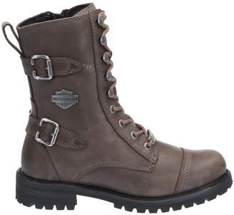 Harley-Davidson Womens Balsa Leather Boots 8 US
