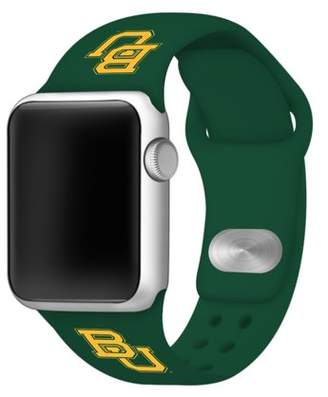 Affinity Bands Baylor Bears 42mm Silicone Sport Band fits Apple Watch - BAND ONLY