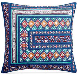 Martha Stewart Mahal Embroidery Cushion