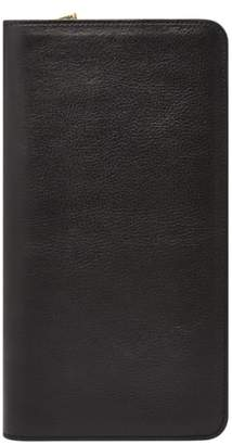 Fossil Leather Zip Passport Case