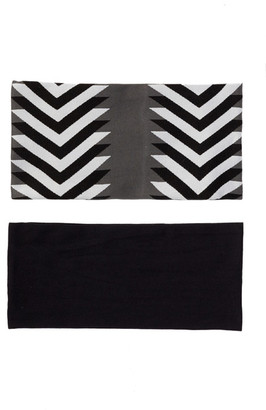 FINEST ACCESSORIES Arrowhead Hair Bandeau - Pack of 2 $14.97 thestylecure.com