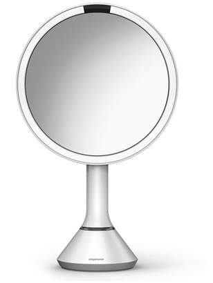 Simplehuman 8&148 Sensor Makeup Mirror with Brightness Control, White