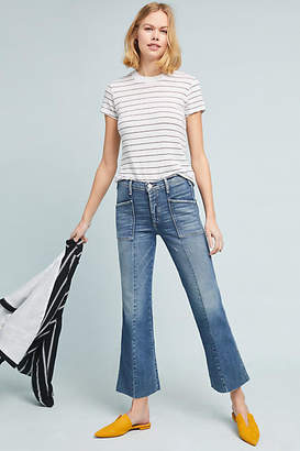 McGuire Bad Liar High-Rise Cropped Flare Jeans