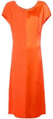 Diane von Furstenberg ruched neck dress