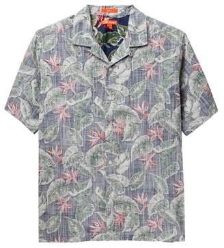 Joe Fresh Reverse Print Camp Shirt (Big Boys)
