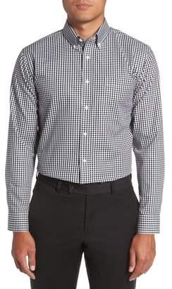 Nordstrom Trim Fit Non-Iron Gingham Dress Shirt