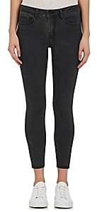 L'Agence Women's Margot Skinny Jeans-Coal