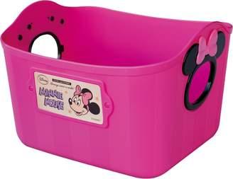 Nishiki Chemical Disney color box Minnie Mouse mini soft bucket SQ5 Cherry Pink