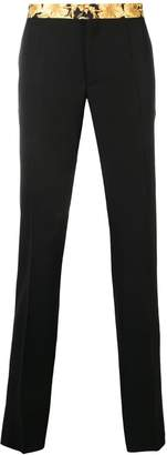 Versace straight-leg tailored trousers