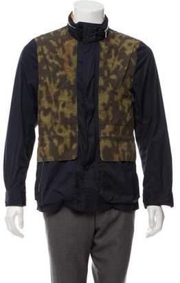 Dries Van Noten Printed Hooded Jacket