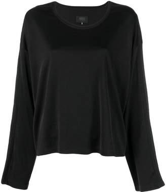 MM6 MAISON MARGIELA plain round neck sweatshirt