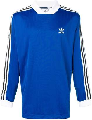 adidas solid regular fit polo