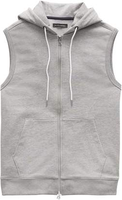 Banana Republic French Terry Hooded Vest