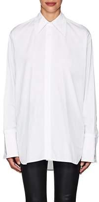 Helmut Lang Women's Cutout-Back Cotton Shirt