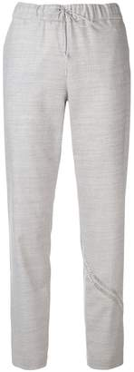 Fabiana Filippi bead embellished tapered trousers
