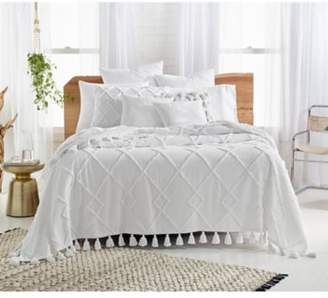 Diamond Tuft Bed Cover