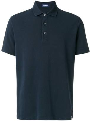 Drumohr straight hem polo shirt