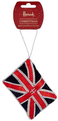 Harrods Union Jack Christmas Decoration