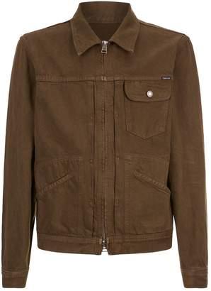 Tom Ford Zipped Denim Jacket