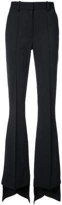 Vera Wang flared tailored trousers