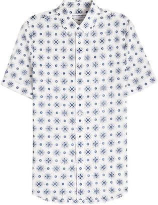 Alexander McQueen Printed Cotton Shirt