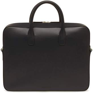 Mansur Gavriel Vegetable Tanned Briefcase - Black