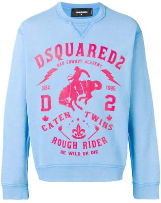 DSQUARED2 Rough Rider sweater