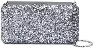 Jimmy Choo Ellipse glittered clutch