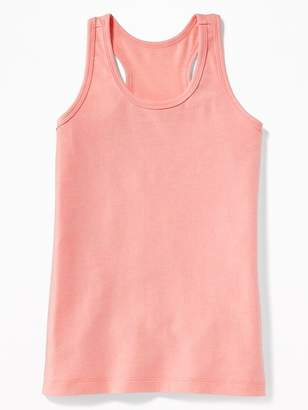 Old Navy Fitted Racerback Scoop-Neck Tank for Girls
