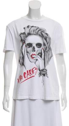 The Kooples Short Sleeve graphic Print T-Shirt