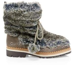 Sam Edelman Blanche Faux Fur Boots