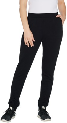 Denim & Co. Active Petite Pull-On Knit Jogger Pants