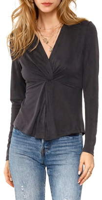 Heartloom Sonora Twist Front Blouse