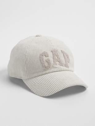 Gap Logo Corduroy Baseball Hat