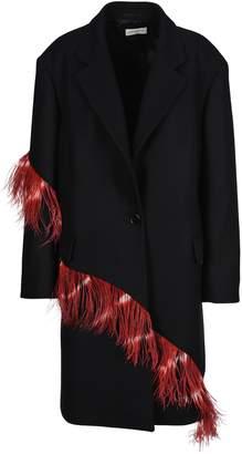 Dries Van Noten Coat Feather
