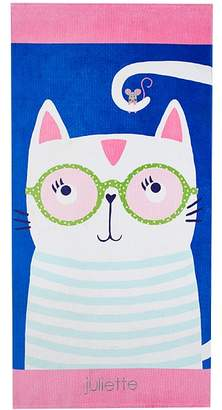 Pottery Barn Kids Nautical Cat with Sunglasses Icon Tote Collection