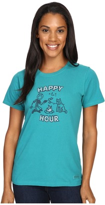 Life is good Happy Hour Roast Crusher Tee $24 thestylecure.com