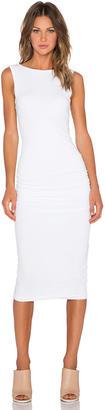 James Perse Open Back Skinny Dress $195 thestylecure.com