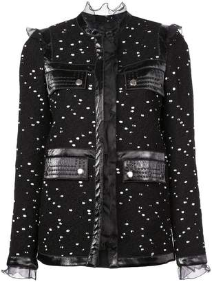 Giambattista Valli pleated panels jacket