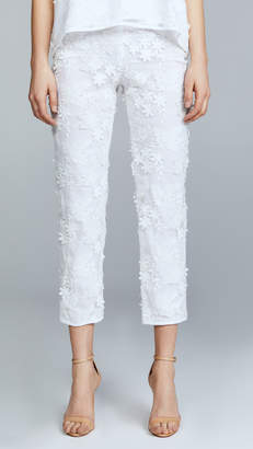 Cynthia Rowley Crossfade Lace Pants