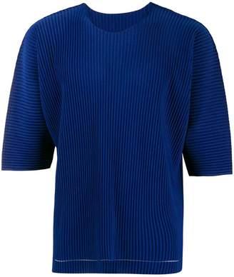 Issey Miyake Homme Plissé short-sleeve pleated T-shirt