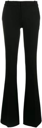 Kiltie flared tailored trousers