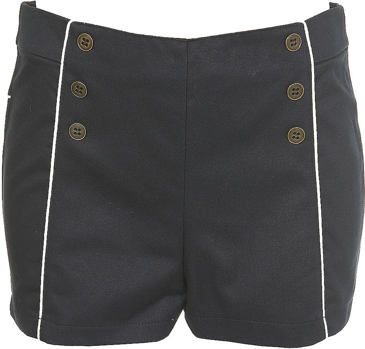 Piped Matelot Hotpants